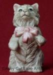 Franklin Mint Cybis style Curio Cat