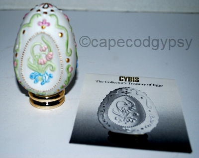 FRANKLIN MINT CYBIS STYLE EGG at capecodgypsy on Etsy