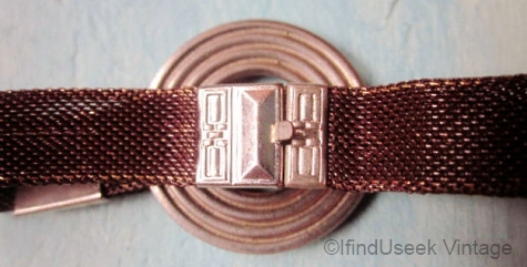 brown bracelet detail