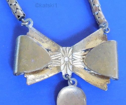 snake chain bow reverse