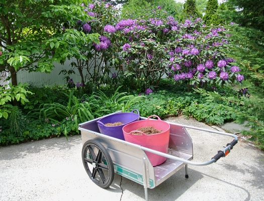 high-tech mulch delivery method