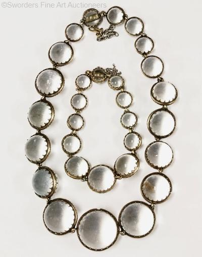 necklace bracelet set pools of light
