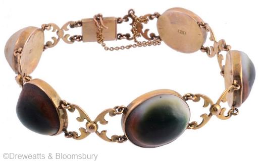 Victorian operculum bracelet