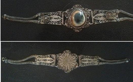 operculum filigree bracelet