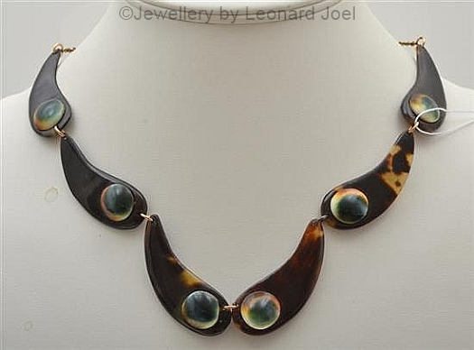 04 operculum and tortoise necklace