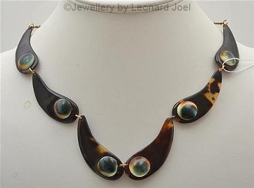 04 operculum and tortoise necklace