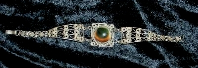 operculum filigree bracelet probably art deco era