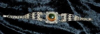 operculum filigree bracelet probably art deco era