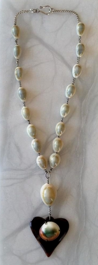 shell and tortoise necklace