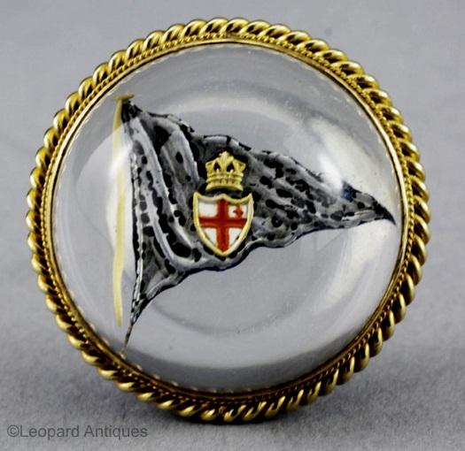 Royal London Yacht Club brooch