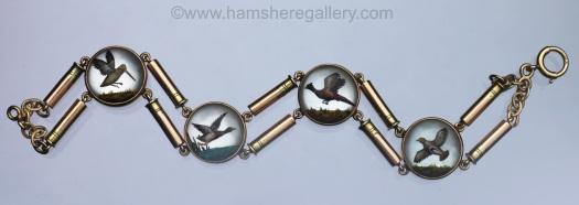 Essex crystal game birds bracelet
