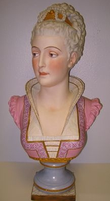 02b Paul Duboy lady bust in pinks