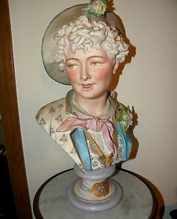 08a Paul Duboy older woman bust