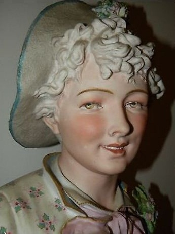 08b Paul Duboy older woman bust detail