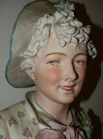 08b Paul Duboy older woman bust detail