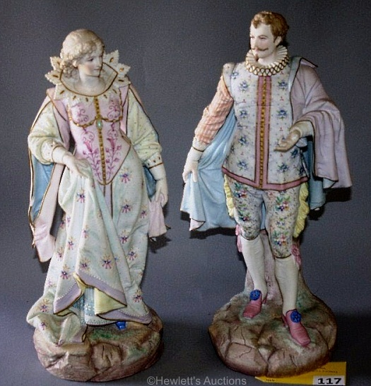 10 Paul Duboy lord and lady figures