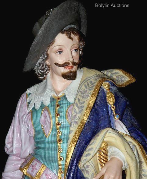 13b Elizabethan pair detail 1