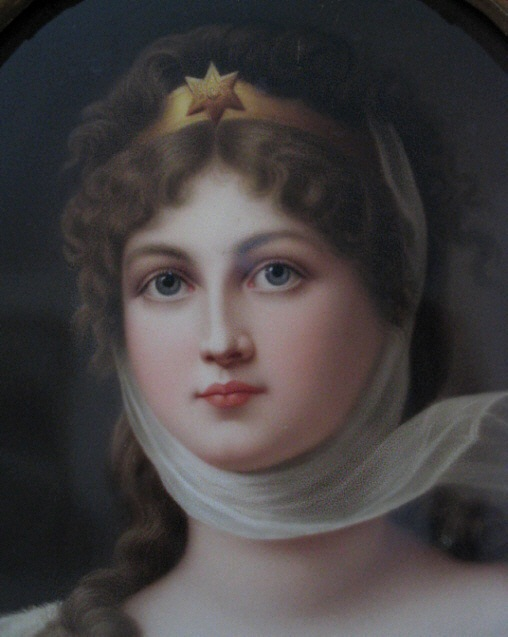 KPM Wagner portrait of Queen Louise