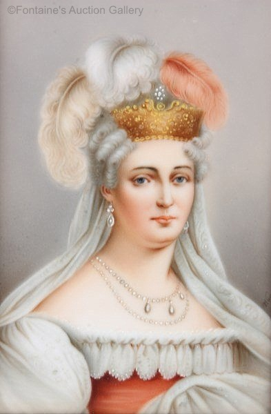 Wagner plaque Duchess of Angouleme