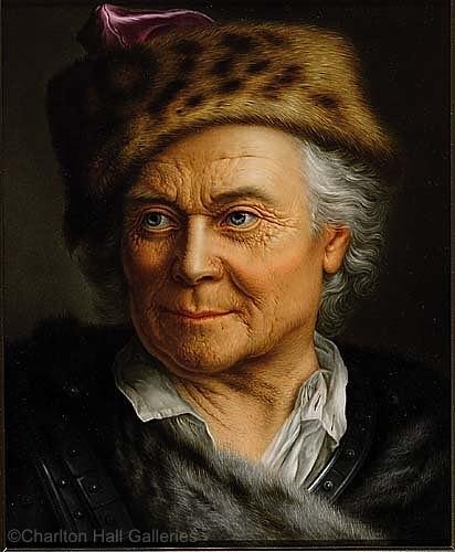 KPM Wagner portrait of a man