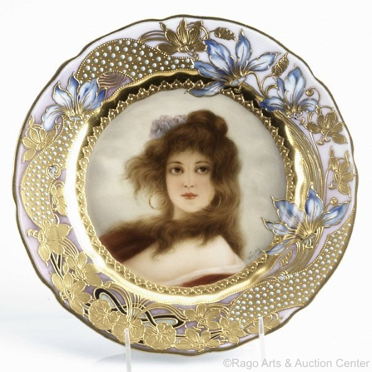 Royal Vienna Wagner plate Sturm