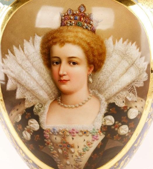 Marie de Medici vase detail